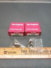 2pack Of Genuine Torrington B 610 Needle Roller Bearings 562od X 375id X 500
