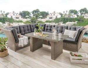 Destiny-Loungegruppe-Palma-Riviera-XL-Vintage-Grau-Lounge-Garnitur-Dininglounge