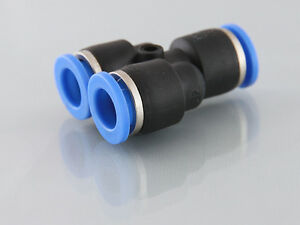 Push In Equal  Y Push In Fittings  ****** Buy 2 Get The Third Free *******
