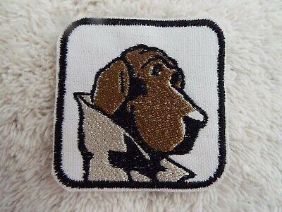 "Egyptian God ANUBIS Doberman Head 3-5//8/"" Embroidery Iron-on Custom Patch E16"