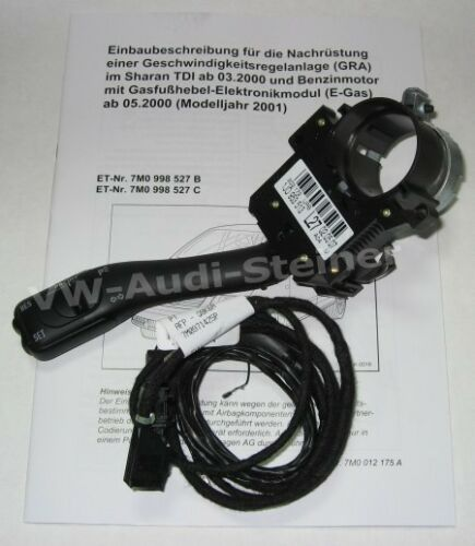Original VW Tempomat GRA für VW Sharan 7M Diesel Benziner 7M0998527B