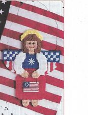 4th of July NEW Salute to America Pattern Plastic Canvas