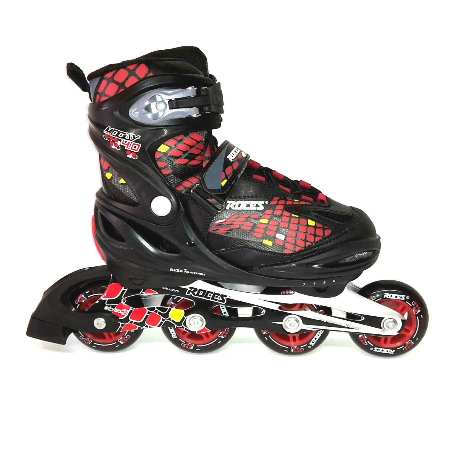 Roces Moody 4.0   Boy Jungen Fitness Inline Skates Gr.  (30-35) verstellbar