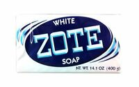 Zote White Laundry Bar Soap, Net Wt 14.1 Oz, (pack Of 4), New, Free Shipping on Sale