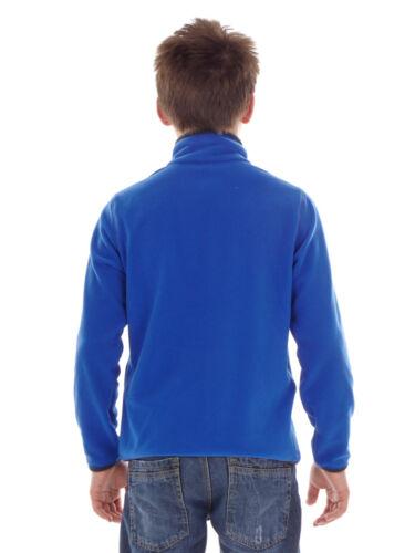 CMP fleecepullover Fonction Pull Haut Bleu Col Montant isolant
