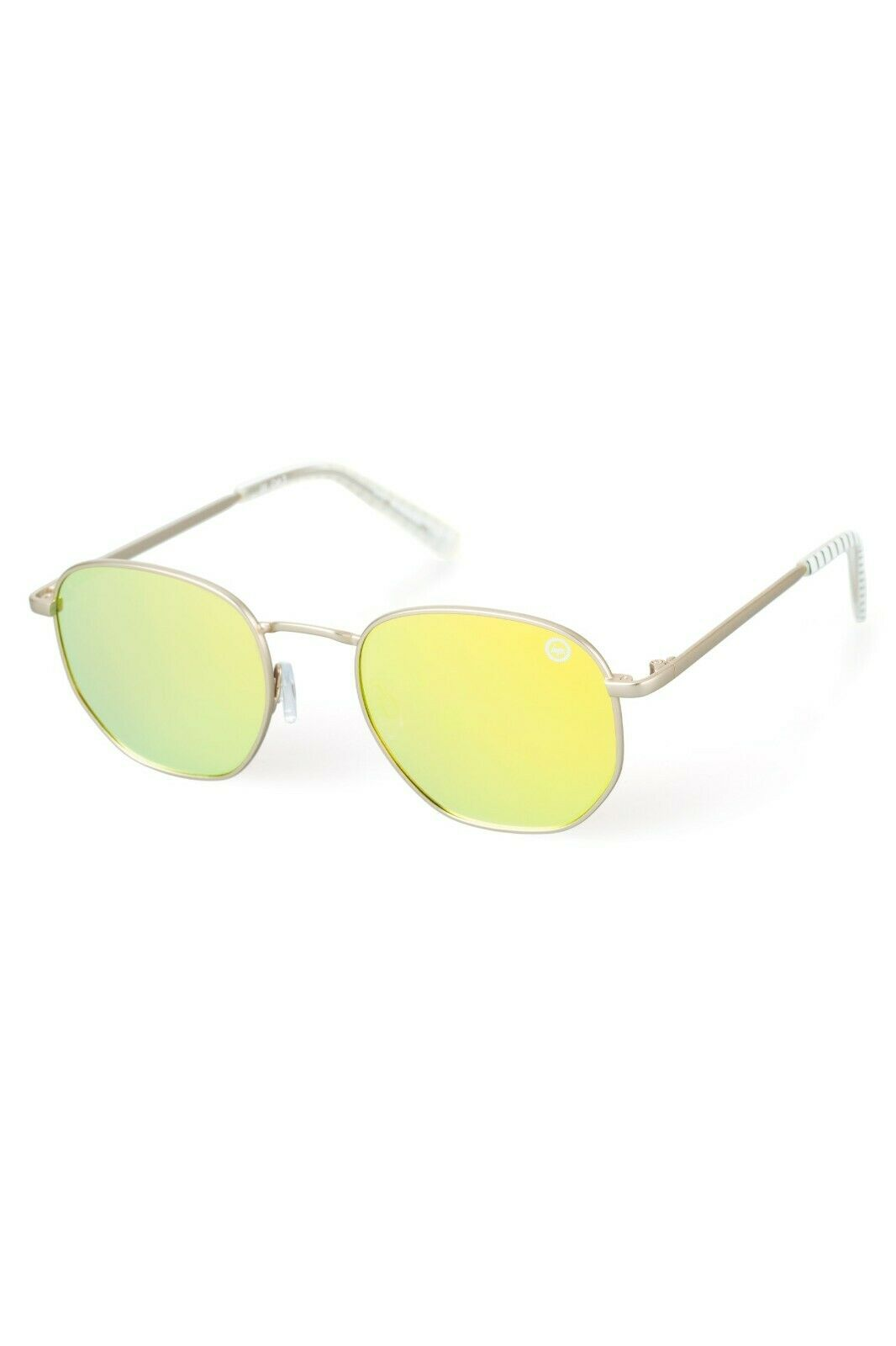 HYPE GOLD YELLOW GEO SUNGLASSES ***Brand New with Tags*** RRP