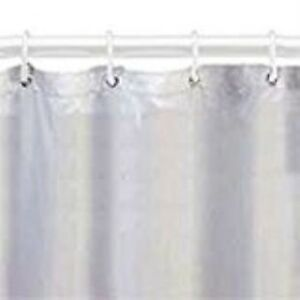 70X72 Wht Vinyl Shower Liner
