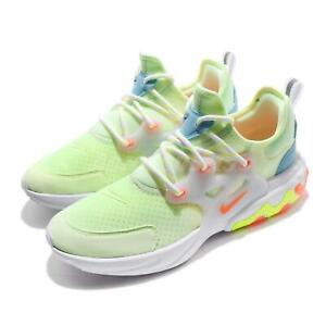 various colors 78e1c c2ee6 Details about Nike React Presto GS Barely Volt Hyper Crimson Kid Youth  Women Shoes BQ4002-700