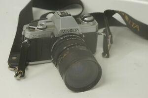 Minolta-x300-x-300-SLR-Film-Kamera-mit-Tamron-35-80mm-Zoom-Schaft