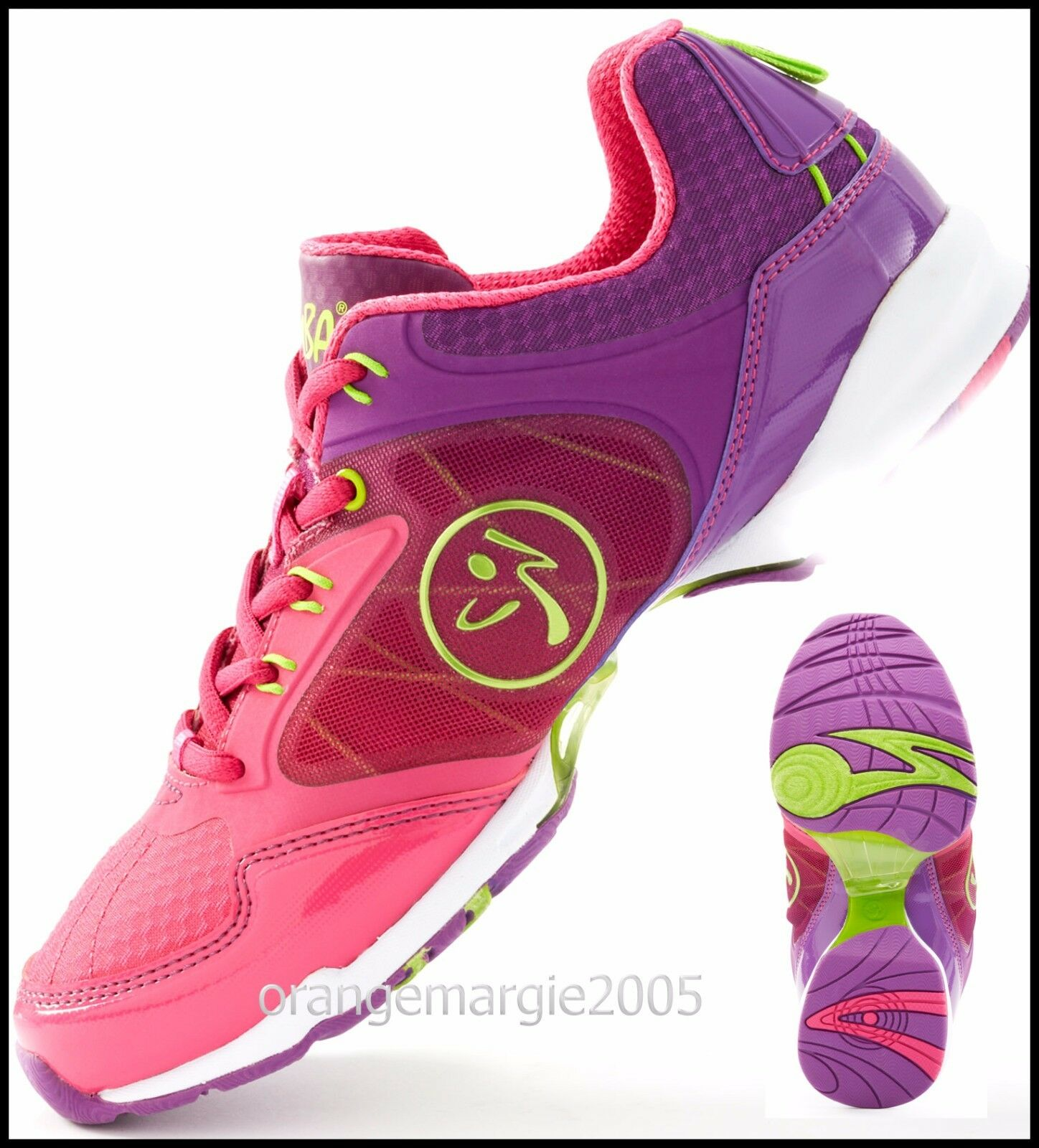 ZUMBA Flex Classic SHOES Trainers DANCE w ZSlide-Impact Max -Zumba's Top Line