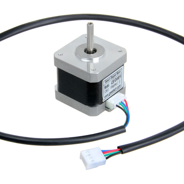 Geeetech stepper motor Nema17 shaft for 5mm GT2 pulley RepRap CNC MakerBot Delta
