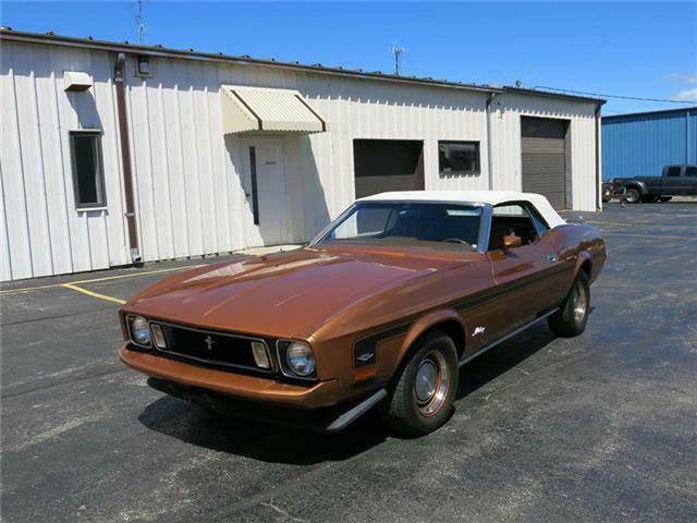 1973 Ford Mustang Convertible, 351C A/C Power Top! Sale/Trade