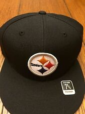 Reebok Fitted NFL Pittsburgh Steelers  Hat Size 7 3/4 NWT Deadstock