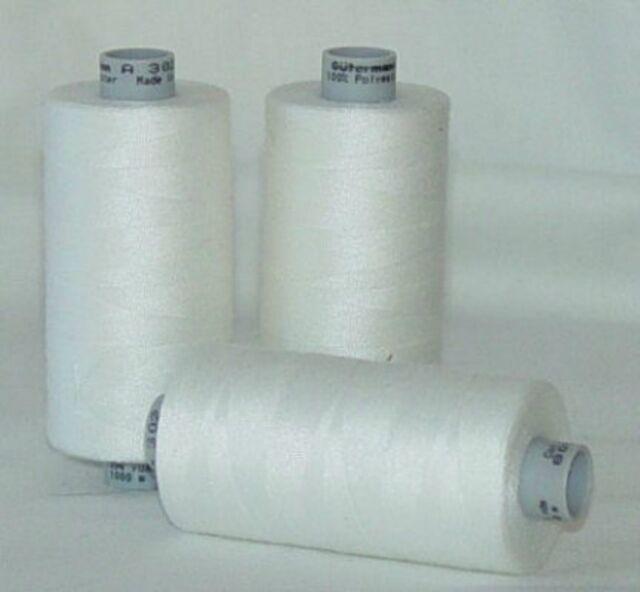 GUTERMANN Thread ONE (1) Spool 1,094yd WHITE