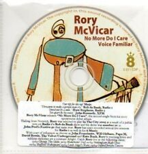 (923H) Rory McVicar, No More Do I Care - DJ CD