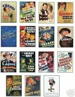 James Cagney Film Poster Trading Card Set