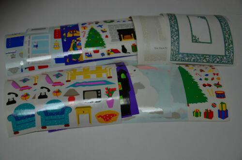 Mrs.Grossman Stickers Kitchen Christmas Nativity You Choose
