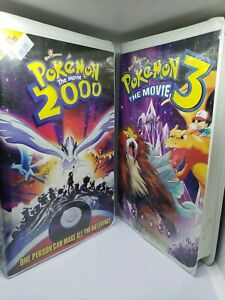 Lot Of 2 Vhs Pokemon 2 And 3 The Movie Spell Of The Unown Ebay