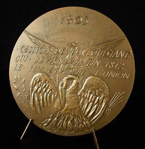 Medaglia-1973-Vendita-Louisiana-New-Orleans-Aux-USA-1803-Bonaparte-Monroe-Medal