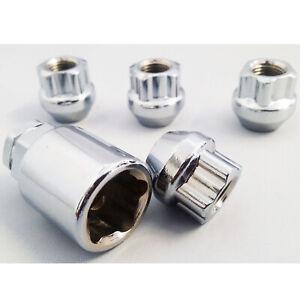 Bimecc UM115 Closed Wheel Lock Nut Set - M12X1.5, 19/21