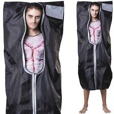 Adult Dead Mortuary Body Bag Costume Halloween Mens Horror Death ... 26fe5c2d6