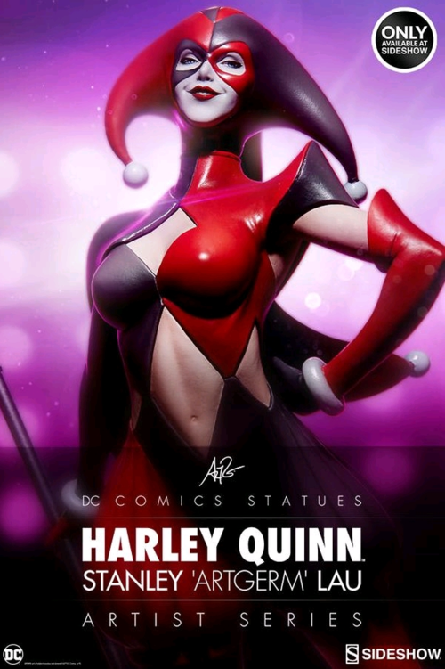 DC Sideshow Collectibles Bathomme Harley Quinn Artist Series  1 5 Scale Statue  Nouvelle liste