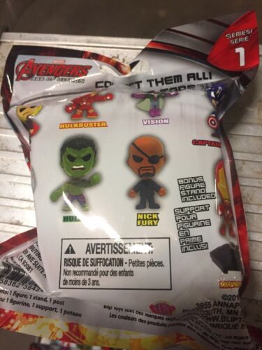 Marvels Avengers Series 1 Original Minis LOT Of 10 Bobble Heads To Collect