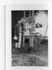 Two Guys Who Caught 26 Fish Washington State Photo 1942