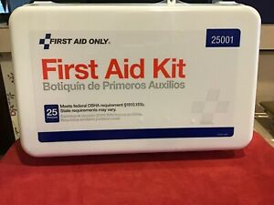 First Aid Kit, 25 Person, 112 Pieces...Never Been Opened