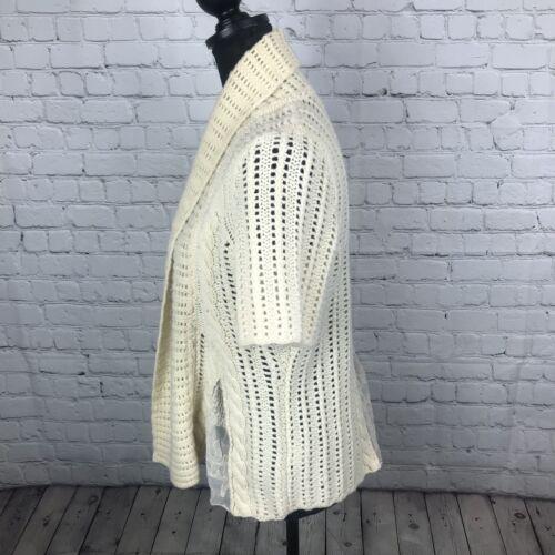 Pannello stampa Cream in M lana con Women's e misto lana lambswool Guinevere Antrho qwaItPq
