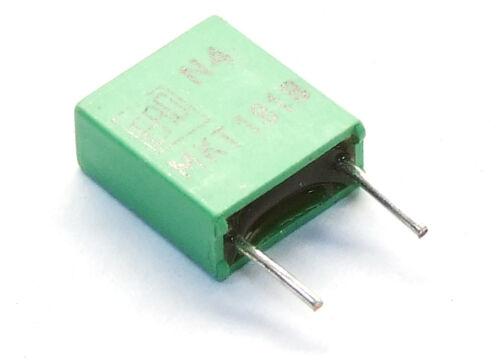 10 roederstein Ero 0.39uF 0.39µF 63V Film Capacitors//Capacitators N4 MKT1818