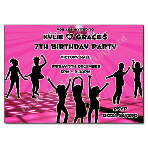 Personalised Childrens Party Invites loads of designs