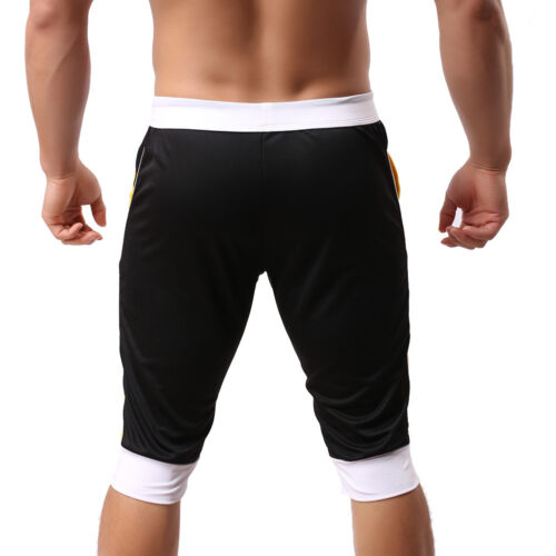 Men/'s Sports Gym Jogger Casual Short Pants Trousers Athletic Tights Slacks