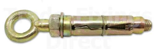 M10 di mattoni Sheild ancoraggio Occhio Bullone Rawl tipo BULLONE trade-fixings direect