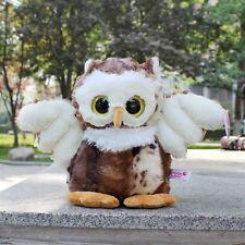 Brown big eyed Owl Stuffed Animals soft toys plush doll 20 CM kids gifts