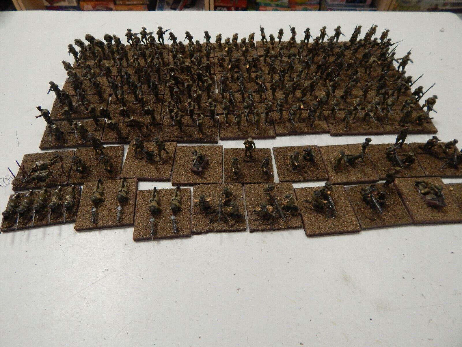 1 72 plastic painted British WW1 Infantry set 2