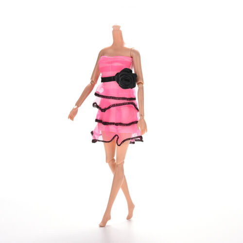 Rose Pattern Bra Skirt for s Princess Dolls Widding Tutu Dresses HICA