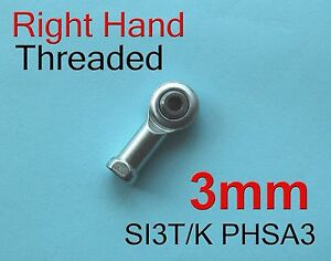 5pcs-Right-3mm-SI3T-K-PHSA3-SI3P-K-NHS3-Threaded-Female-Rod-End-Joint-Bearing