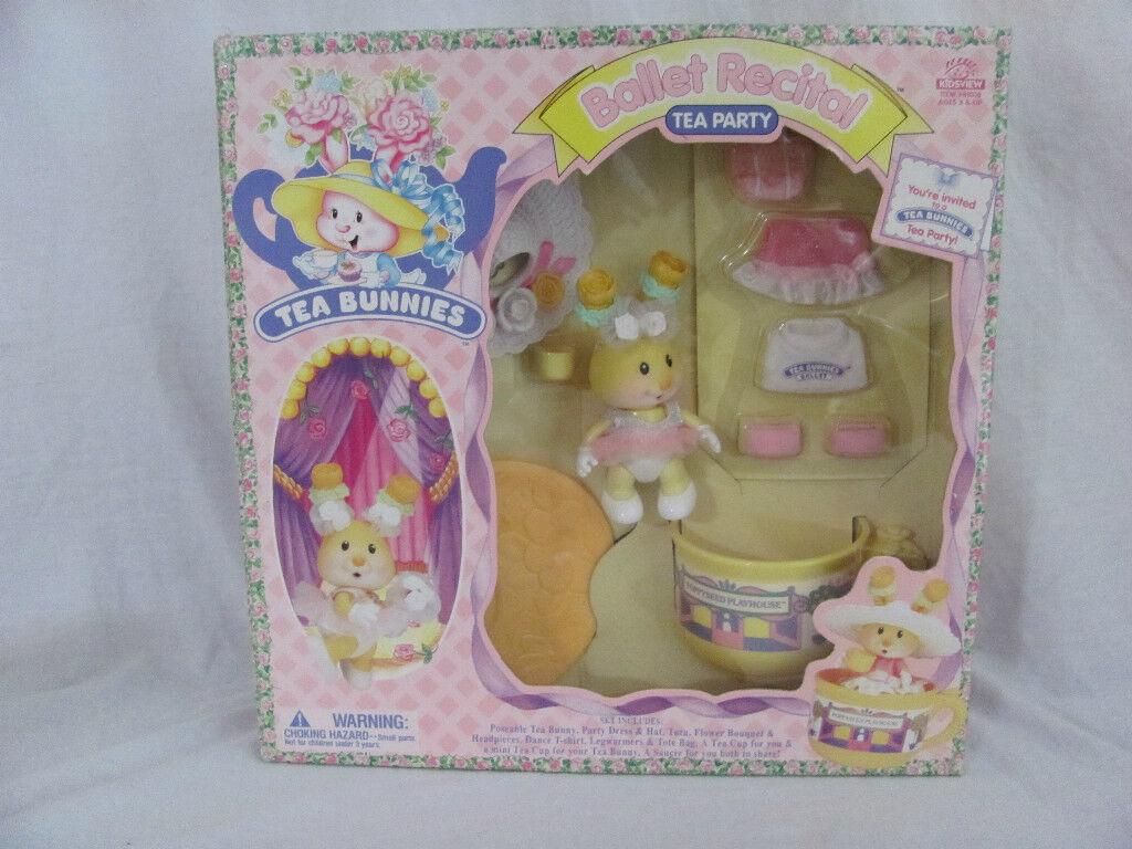 Brandneu Kidsview Tee Hasen Vintage Hase Spielzeug Tea-Party   Ballett Recital