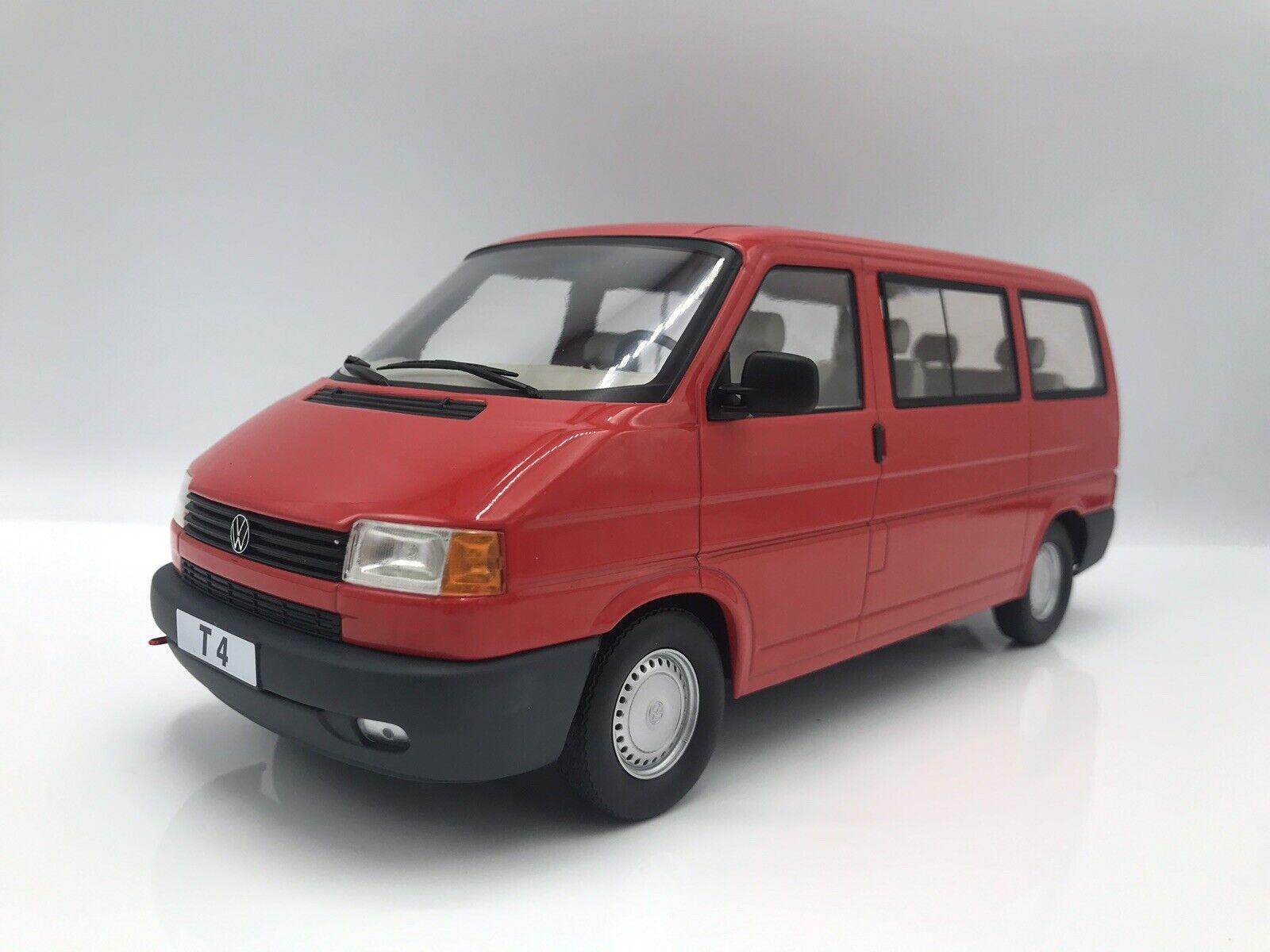 VW t4 CARAVELLE 1992 rojo Bus BULLI - 1 18 KK-scale  NEW