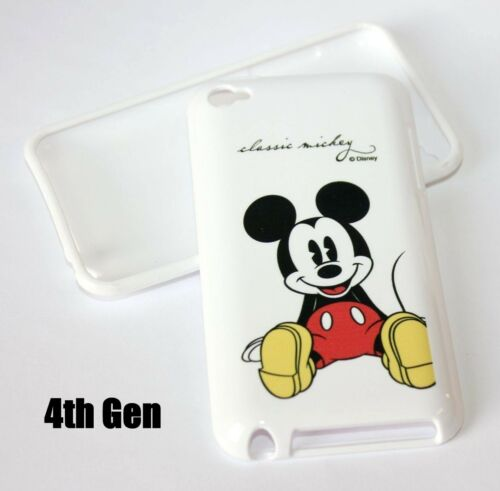 For iPod Touch 4th Generation Hard TPU Rubber Silicone Skin Case Cover Disney
