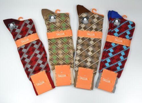 Mens Tallia Happy Socks Argyle Design Cotton