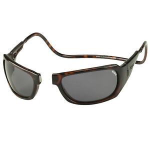 8cbc2fbd98 Image is loading CliC-Monarch-Magnetic-Sunglasses-Frame-Tortoise -Lens-Polarized-