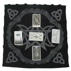 Triple-Moon-Pentagram-Altar-Tarot-Cloth-Divination-Cards-Wicca-Velveteen-2020