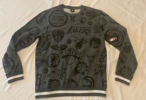 NBA-All-Teams-Crew-Neck-Sweatshirt-Brand-New-Mens-Medium-RARE
