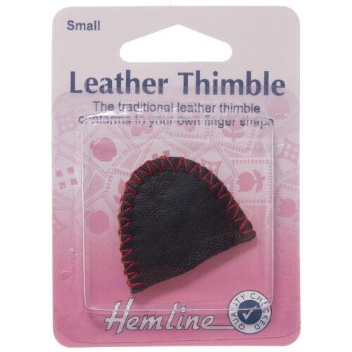 5x Thimble Leather Small Sewing Craft Tool Hobby Art UK Bulk Filoro