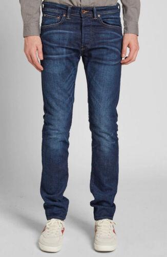 80 Val Notte Uomo Scuro Blu Sottile L34 W36 Ruffle Jeans Edwin cs Ed p4wTtq7