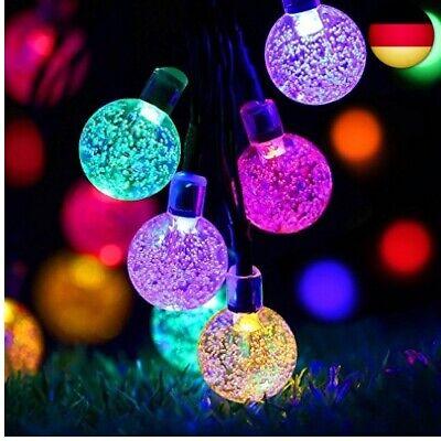 LED Lichtschlauch LED Schlauch Lichterkette Au/ßen Outdoor Solar Lichterketten Wasserdicht 10M 100 LED Kupferdraht Lichterkette Ideal F/ür Aussen Party Hochzeit Feier Deko Weihnachtsbeleuchtung
