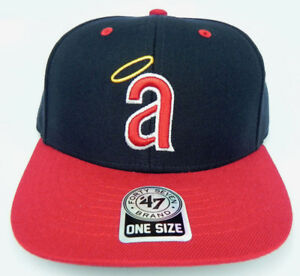 CALIFORNIA-ANAHEIM-LA-ANGELS-MLB-VINTAGE-STRAPBACK-RETRO-CAP-HAT-NEW-039-47-HALO