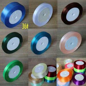 25-Yards-Roll-Satin-Ribbon-Appliques-Crafts-Wedding-Gift-Wrapping-Decor-DIY